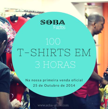SOBA Factos: 100 T-shirts em 3 Horas