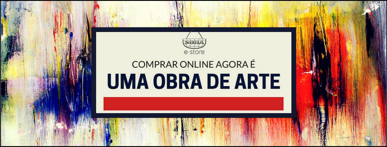Comprar Online Agora É Uma Obra de Arte