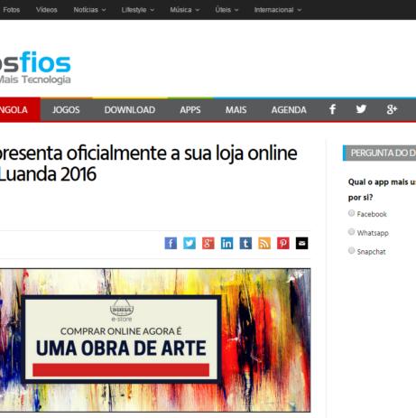 """Lançamento da SOBA e-Store em destaque no Portal de Tecnologia """"Menos Fios"""""""