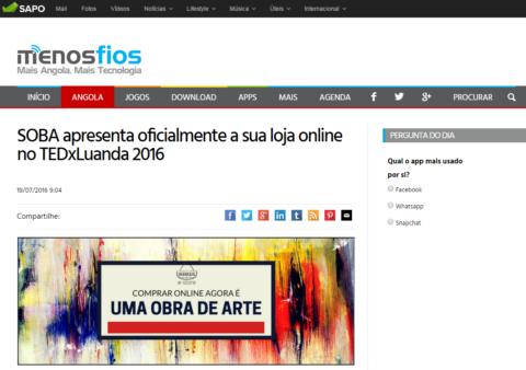 SOBA e-Store No MenosFios