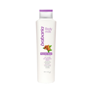 BABARIA BODY MILK AMENDOAS 500ML