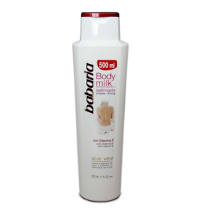 BABARIA MILK REAFIRMANTE 500ML