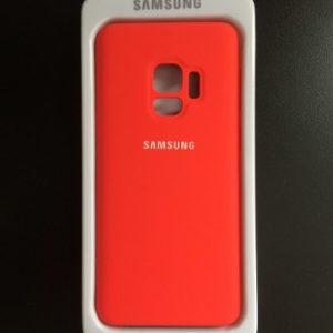 capa samsung s9 vermelha