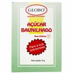 ACUCAR BAUNILHADO GLOBO 70GR