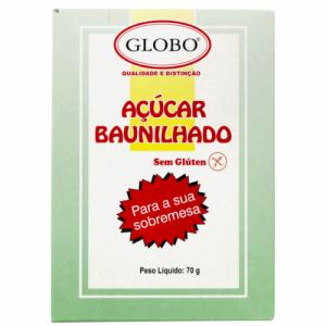 Açúcar BAUNILHADO GLOBO 70g