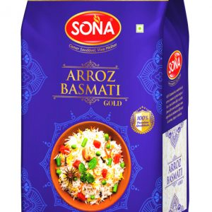 Arroz Basmati SONA GOLD PET JAR 1Kg