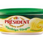 MANTEGA PRESIDENTE MAGRA COM SAL 250G