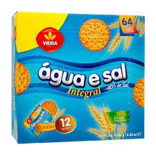 BOLACHA Água E SAL INTEGRAL VIEIRA 186G