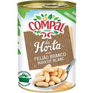 FEIJAO COMPAL Branco 410g