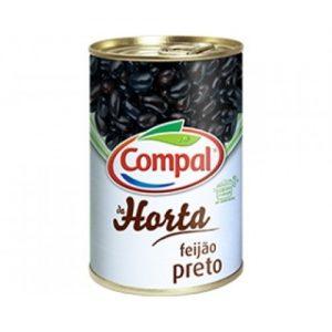 FEIJAO COMPAL PRETO 410g