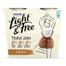 IOGURTE LIGHT&FREE PED.COC 4X115G