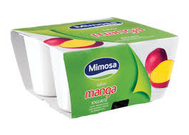 IOGURTE MIMOSA DE MANGA 4X125G