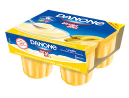IOGURTE ULTRA MEL DANONE/Banana 4X125G