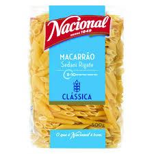 MASSA MACARRONETE Nacional 500GR