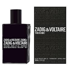 PERFUME ZADIG VOLT.THIS HIM MEN 100ML