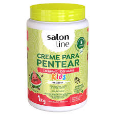Creme De Pentear Salon Line Kids Vegano 1kg