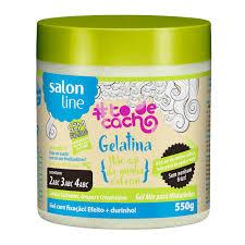 Gelatina Salon Line To De Cachos 550g