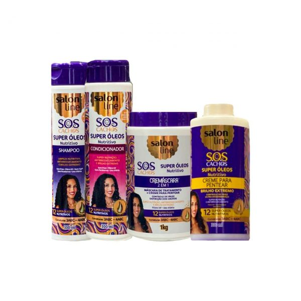 Kit Salon Line Super Oleos Nutritivo