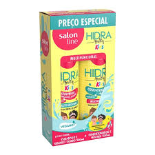 Shampoo e Condicionador Salon Line Hidra Multy Kids 300 ML
