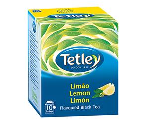 Caixa De Chá Tetley Limão