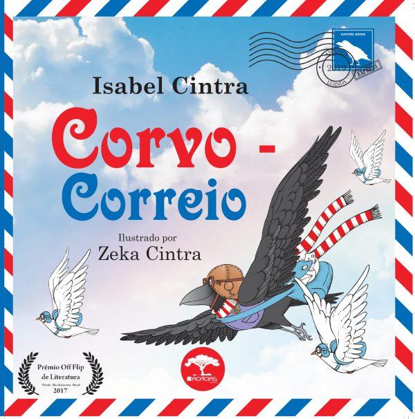 Livro O corvo-correio Isabel Cintra