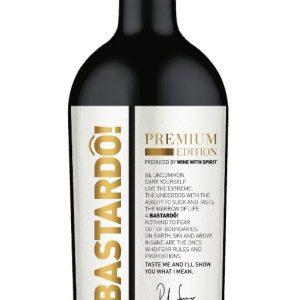 Caixa De Vinho Bastardo Premium Edition 0,75 ML  *1