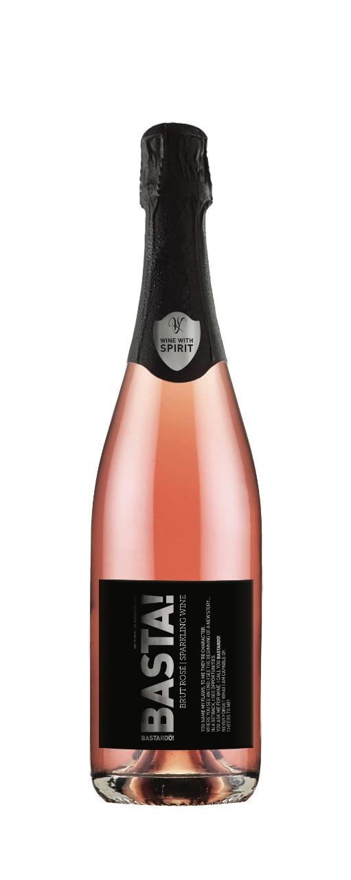Caixa De Vinho Espumante Bastardo Sparkling Rose 0,75 ML  *6