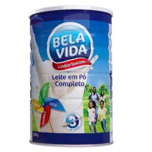 BELA VIDA LEITE EM PO 6X2,27KG (LATA)