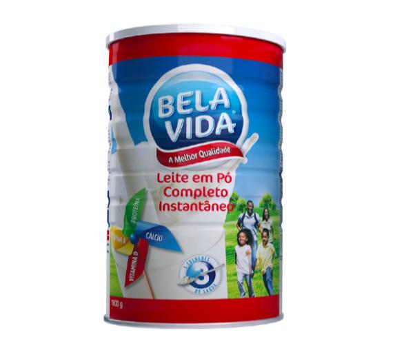 BELA VIDA LEITE EM PO 6X1,8KG (LATA)