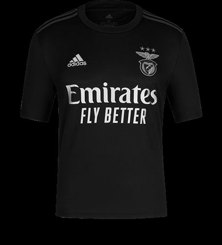 Camisola Alternativa SL Benfica 2020-21 para criança - 16 anos