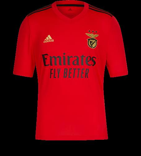 Camisola Principal SL Benfica 2020-21 para criança - 14 anos