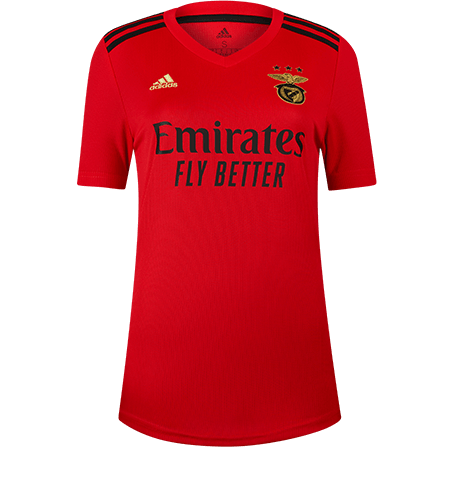 Camisola Principal SL Benfica 2020-21 para mulher - XL