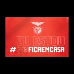 Bandeira #BENFICAEMCASA 90 x 150 Cm 1