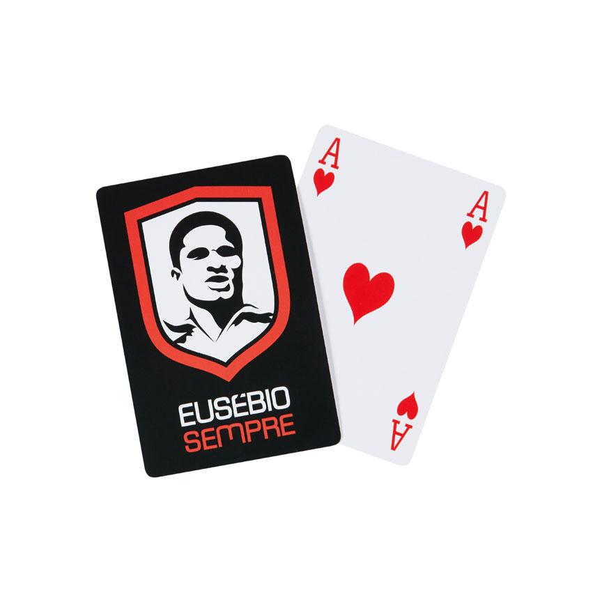 Baralho De Cartas Com Alusão ao Eusébio