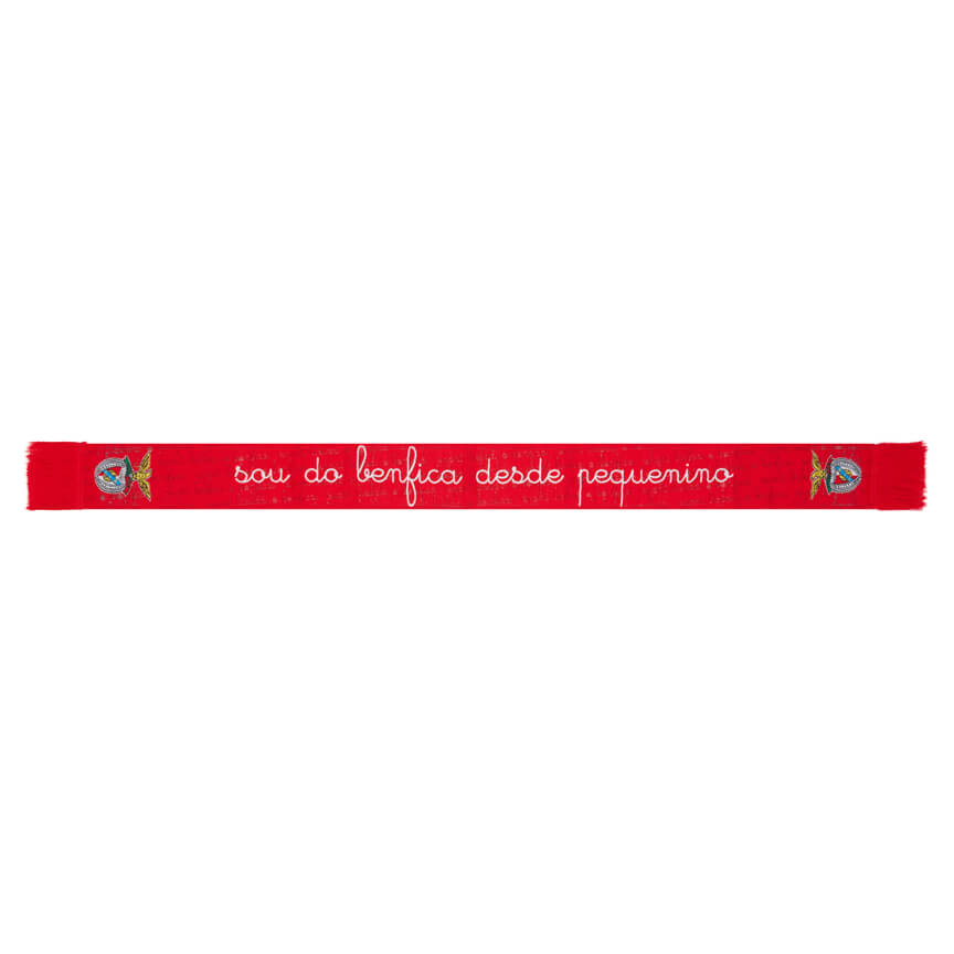 Mini Cachecol Bebé Sou Do Benfica Desde Pequenino