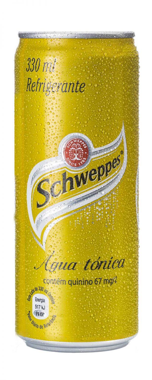 Água Tónica Schweppes em Lata 330ml