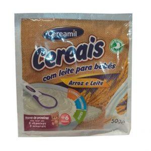 Cereais Arroz e Leite Cereamil 50g