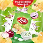 Batata Frita Lulu sabor Sour Cream & Cebola 40g