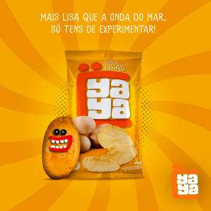 Batatas Fritas Lisas Yaya 40g