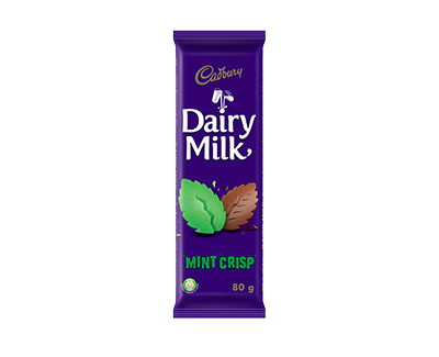 Chocolate Dairy Milk Mint Crisp Cadbury 80g