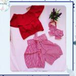 Conjunto Claudia- Riscas vermelhas – Copy
