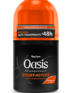 Desodorizante Roll On Sport Active Oasis 50ml