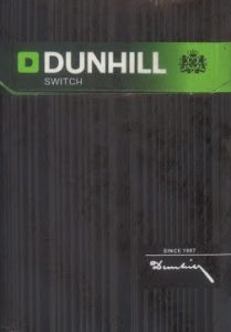 Cigarros Dunhill Switch 1 Maço
