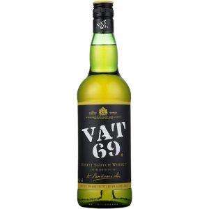 Garrafa de Whiskey Vat 69 750ml