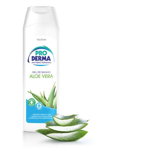 Gel de Banho AntiBac Aloe Vera Pro Derma 500ml