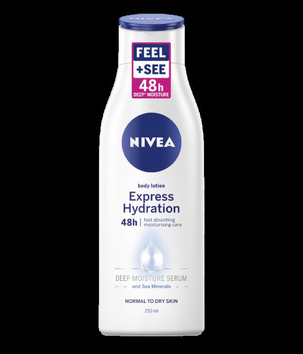 Loção para Corpo Express Hydration Nivea 250ml