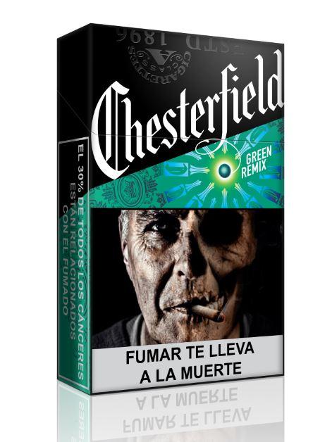 Maço de Cigarro Chesterfield Remix Mint