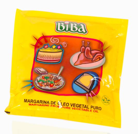 Margarina Saquetas Biba 250g