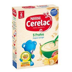 Papa Cerelac 5 Frutos Nestlé 250g