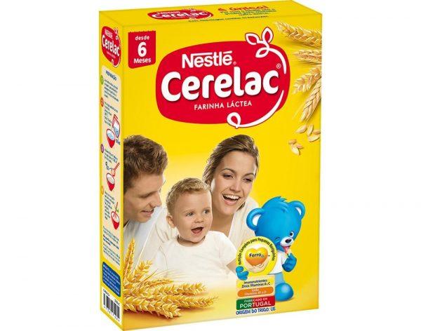 Papa Cerelac Farinha Láctea Nestlé 500g